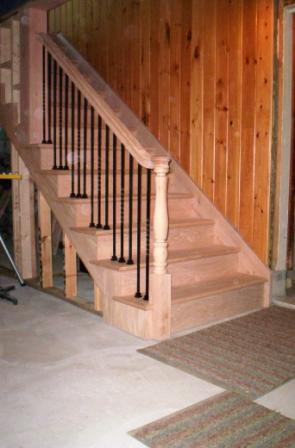 Converting An Open Staircase To A