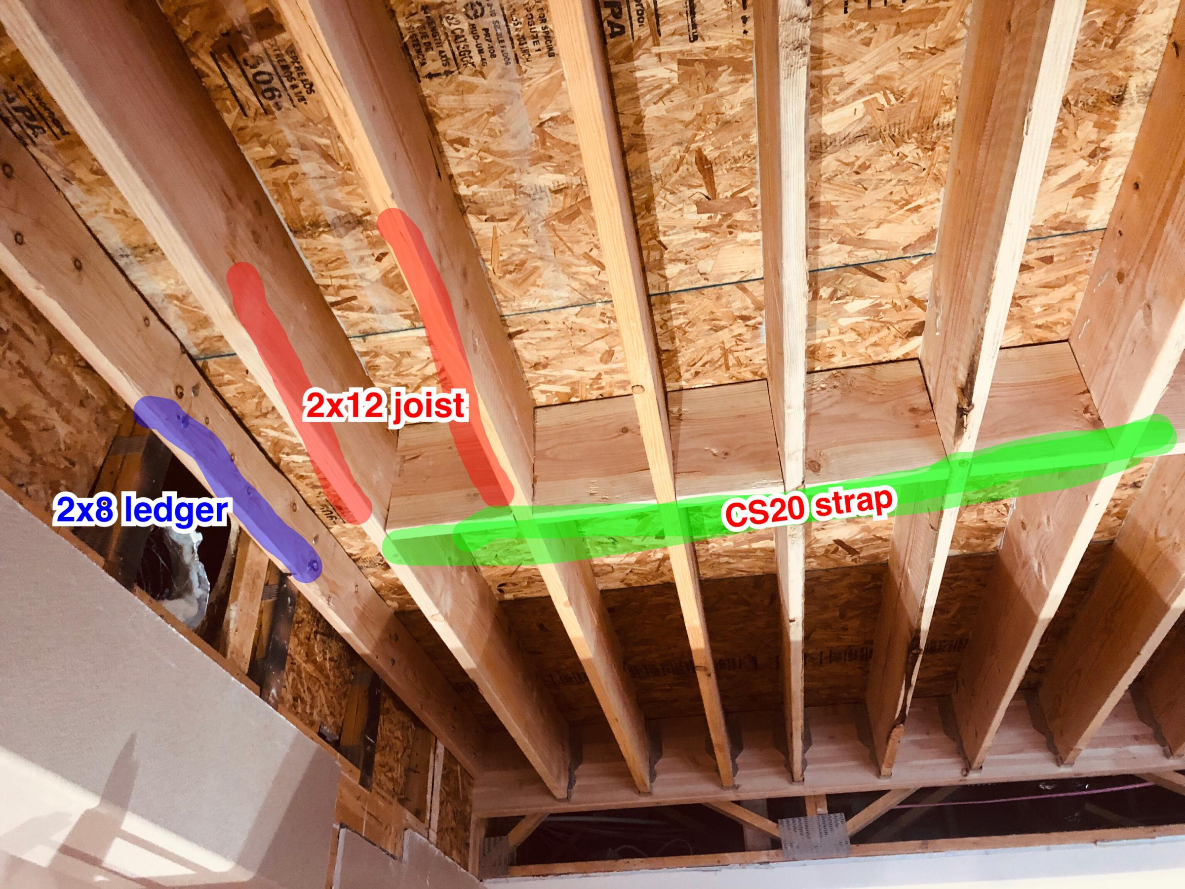 Joist Blocking Strapping Building Construction Diy Chatroom