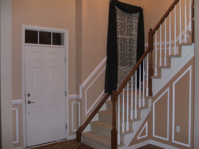 Chair Rail And Boxes Part - 39: Stairway Chair Rail And Picture Boxes-001.jpg ...