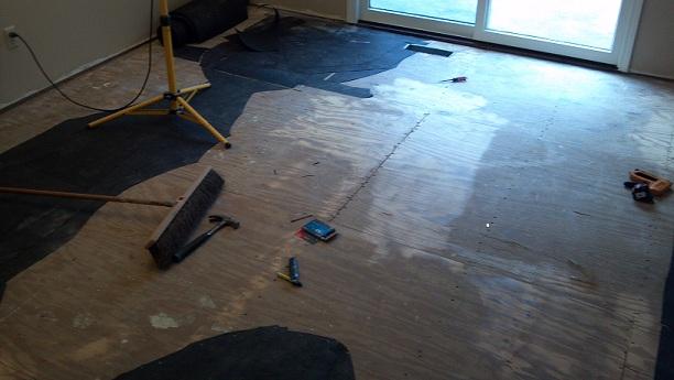 "Preparing 3/4"" subfloor for hardwood-001.jpg"