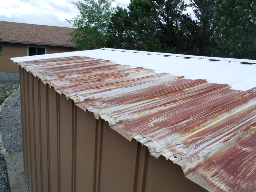 Painting A Metal Shed Roof Painting Diy Chatroom Home