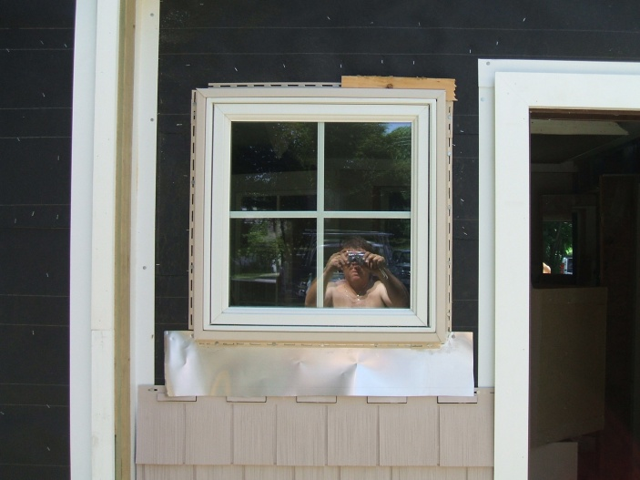 Flashing A Window With Pvc Trim Windows And Doors Diy