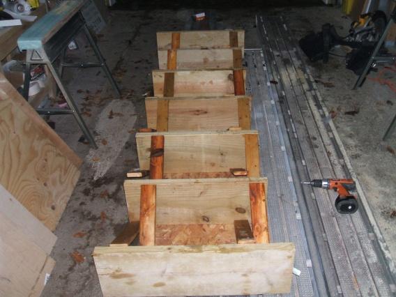 Bouncy i beam floor building construction diy for Wood floor joist bridging