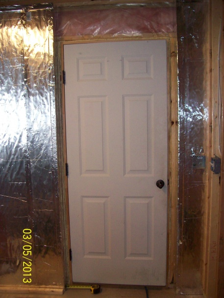 Exceptionnel Need Ideas On How To Fur Out This Basement Entry Door 003