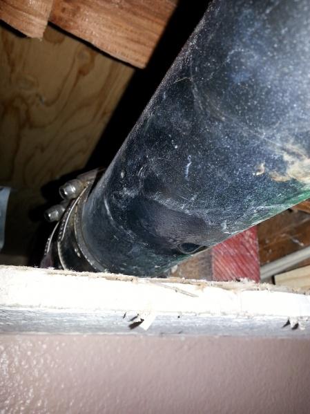 Repairing pinhole leak in ABS drain in ceiling-003.jpg