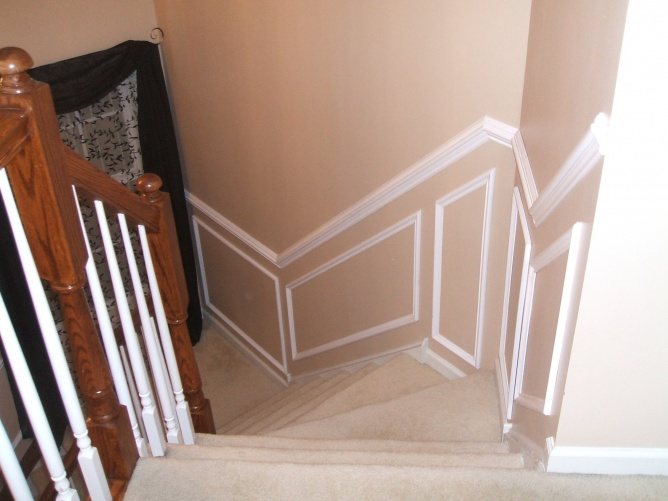 stairway chair rail and picture boxes-007.jpg