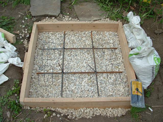 Rebar Placement In A 3x3 Concrete Pad Top Bottom Or Middle