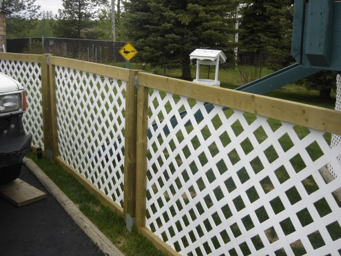 Portable cheap fence general diy discussions diy for Free standing fence diy