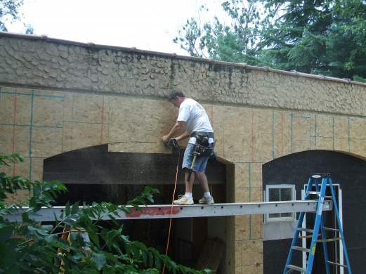Vinyl Siding Over Concrete Block Remodeling Diy