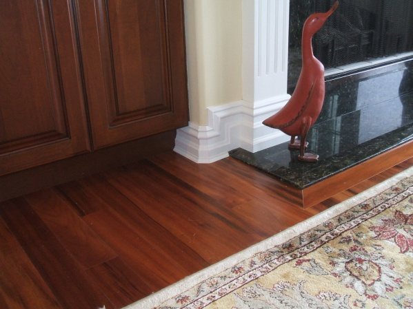Tall Baseboards That Run Into Kitchen Cabinets What To Do