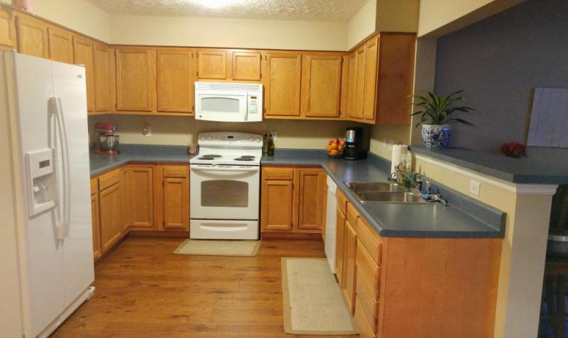 Kitchen Remodel Oak Cabinets Paint Stain Granite Interior