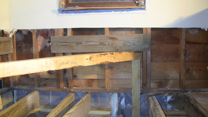 How To Replace A Rotten Sill Plate, Joists, And Subflooring ...