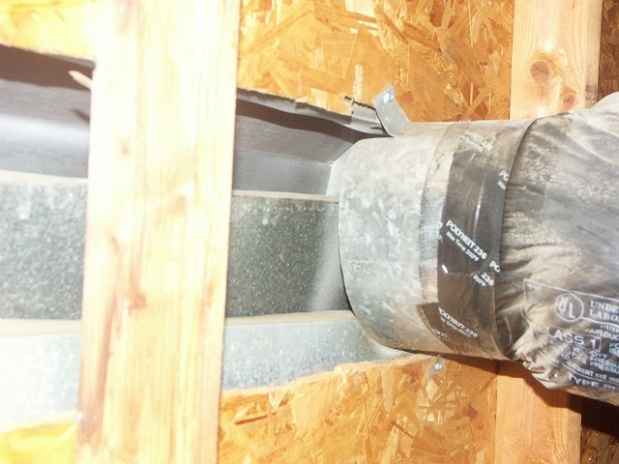 HVAC air intact connected to Dormer Vent in roof-023.jpg