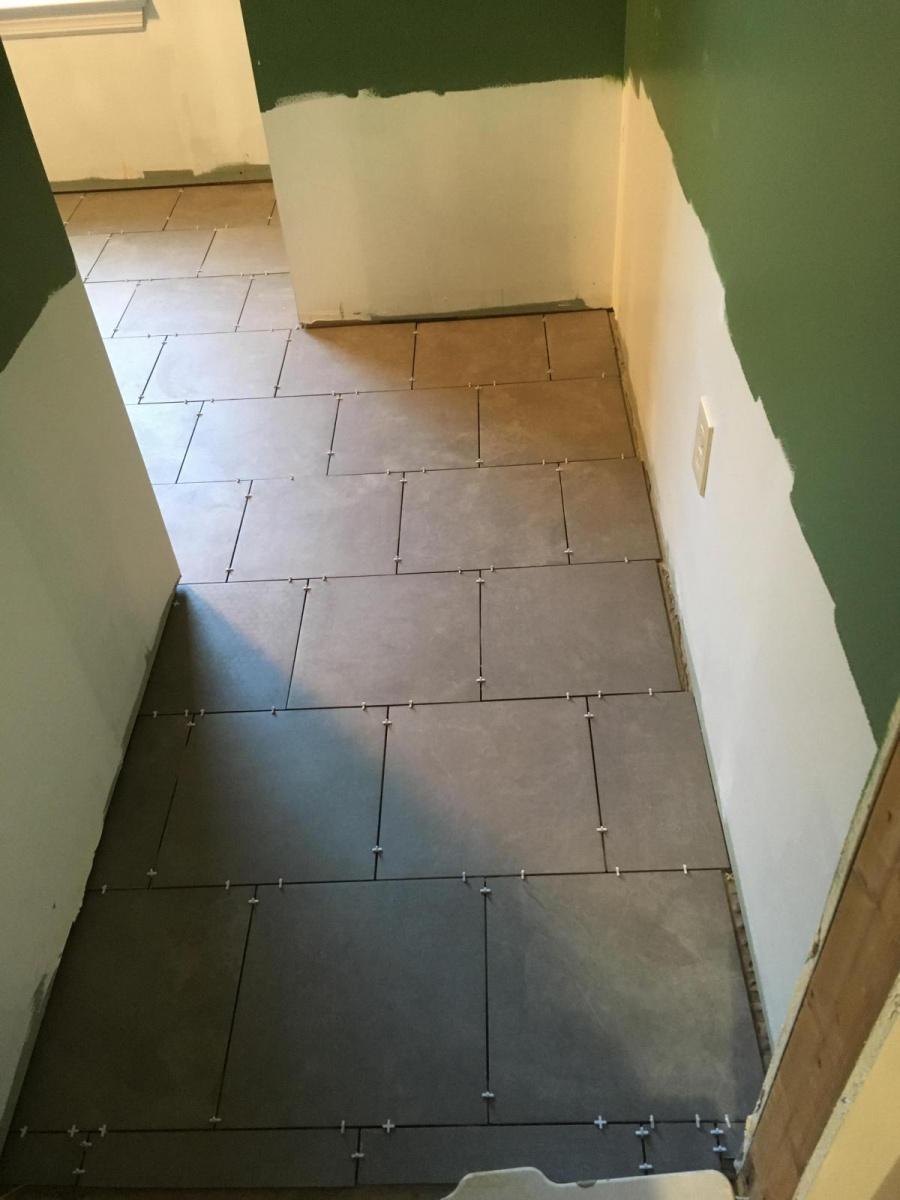 Does Sharp Porcelain Tile Require A Different Grout Technique ...
