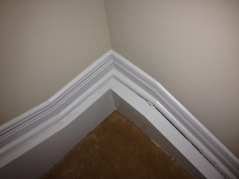 Baseboards Separating From Wall In Stairs General Diy