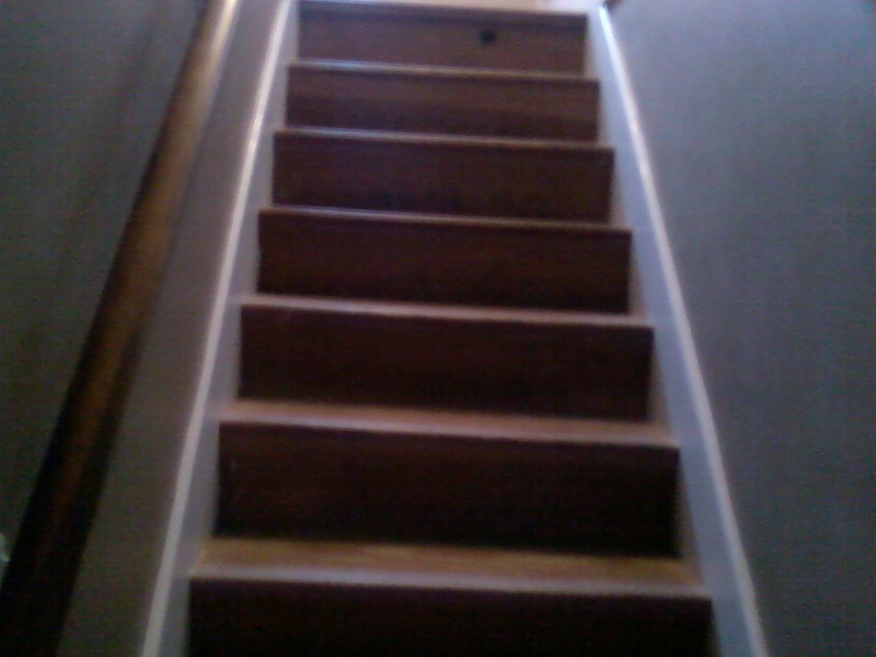 How To Finishing Oak Stair Treads : How To Finishing Oak Stair Treads : Bare Wood Stairs Finishing