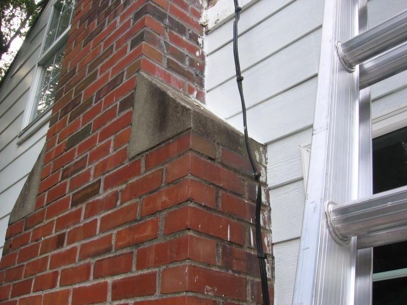 Fill Gap Between Siding And Chimney Building