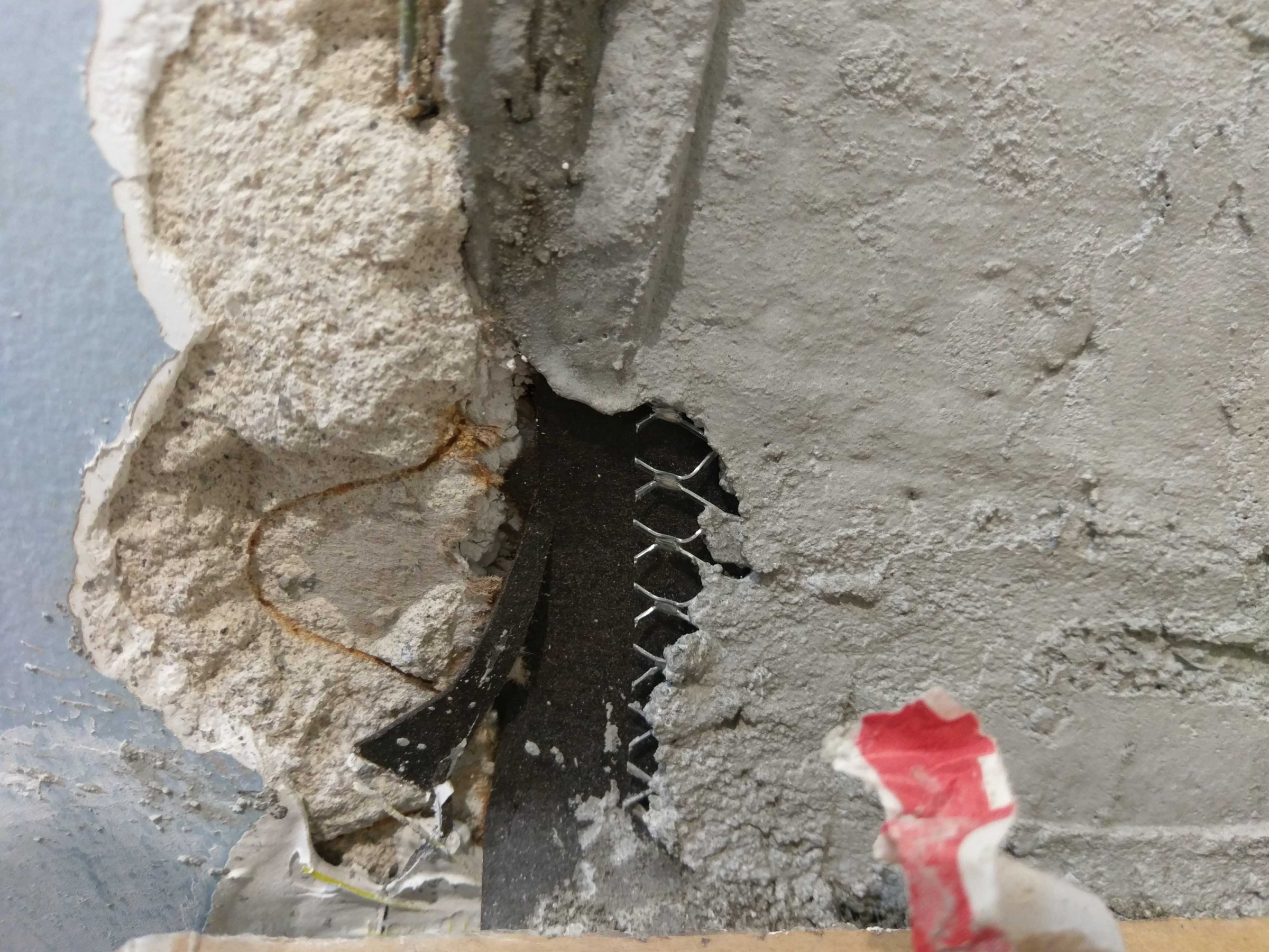 Floating Tile - Should We Be Worried? - Torn Paper and Mud Gaps-05-holes.jpg