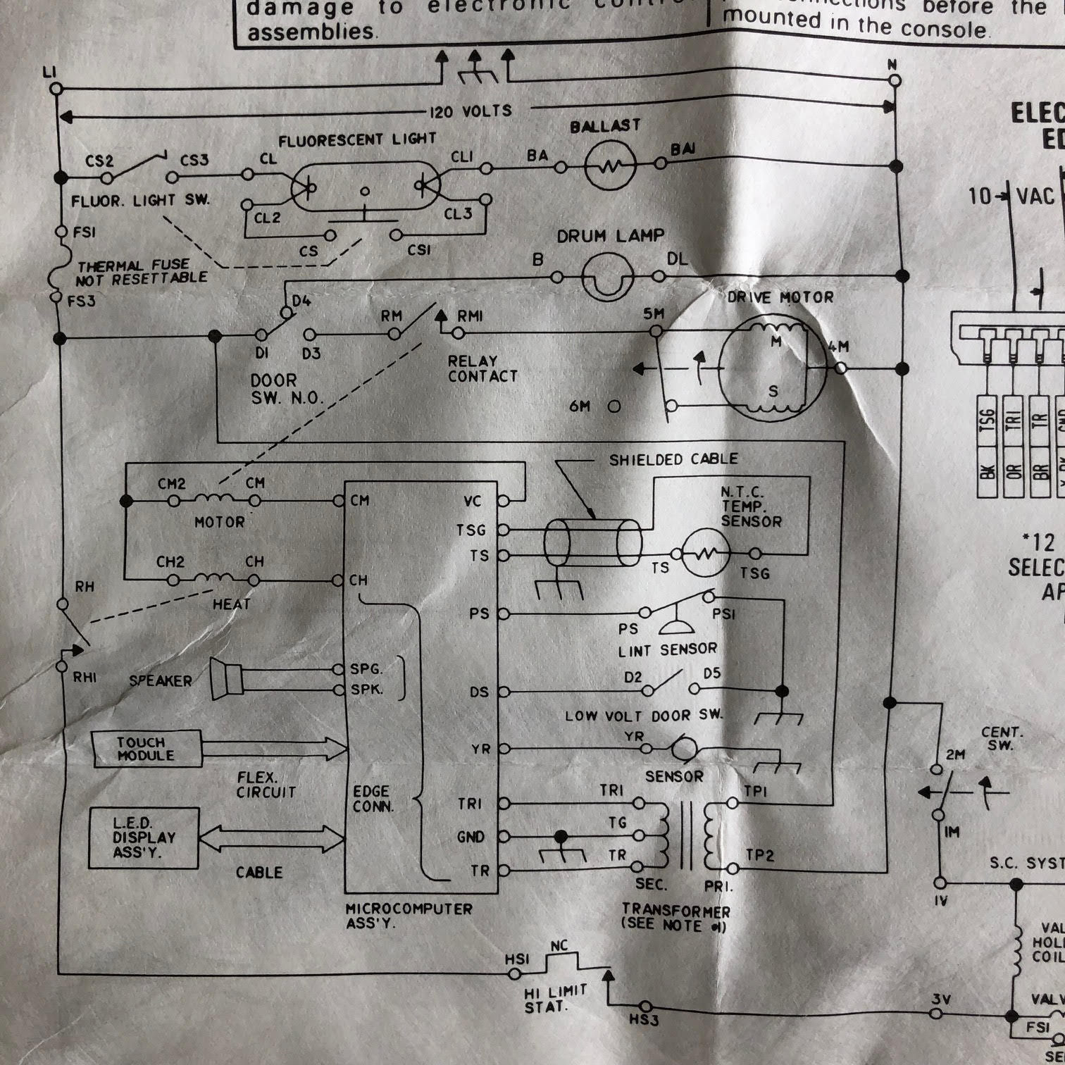 Need Help Bypass Dryer Door Switch - Appliances