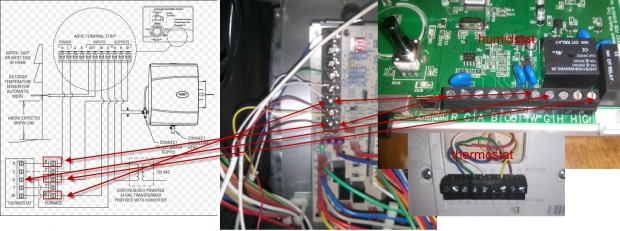 Aprilaire 600 Wiring - Hvac