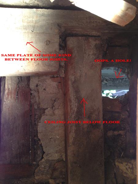 Load bearing joining at brick wall.  Studs where?-1.jpg
