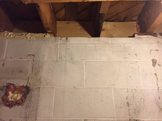 Insulating Basement Wall Sill Plate Rim Joist