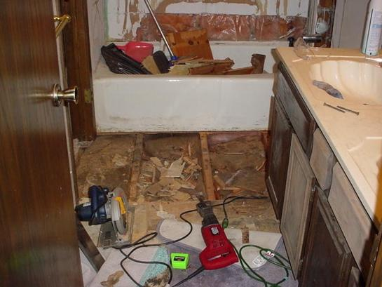 Nd Floor Subfloor Replacement HELP Building Construction - Bathroom subfloor replacement