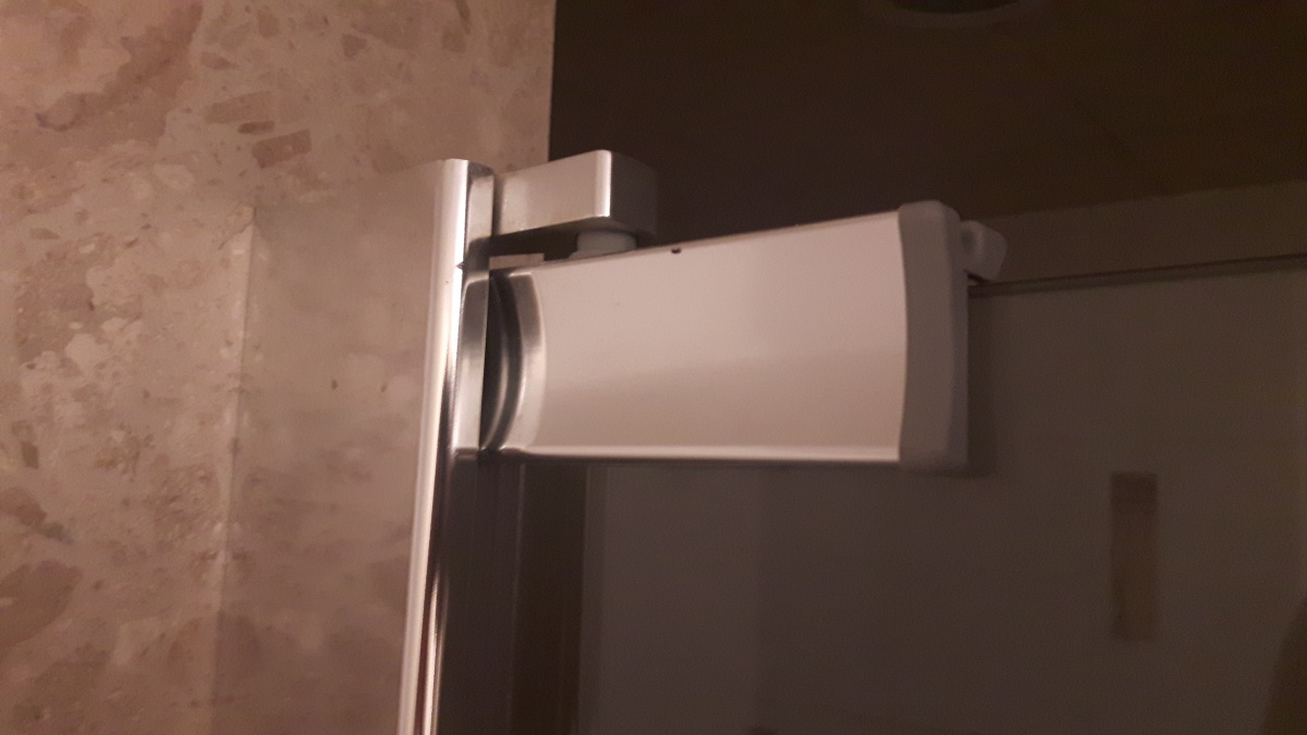 Shower Door Hits Toilet - What are the possible ways of repairing this problem?-1.jpg