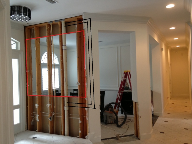 Is this a load bearing wall?  If so, what do I do to support the ceiling?-1.jpg
