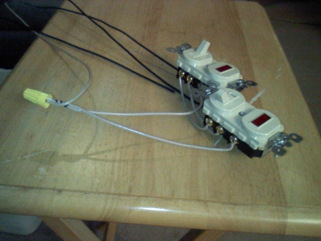 Wire Two 3way Switches Both With Pilot Lights - Electrical