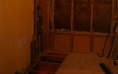 Removing Rotten Bathroom Subfloor Flooring Diy