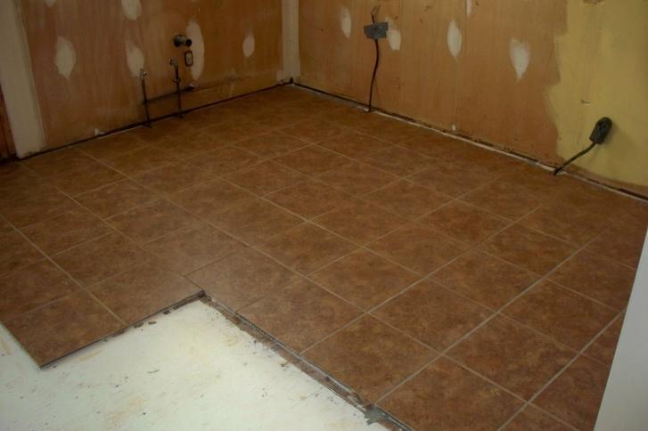 Tiling Around Or Under Cabinets??? - Kitchen & Bath Remodeling - DIY ...