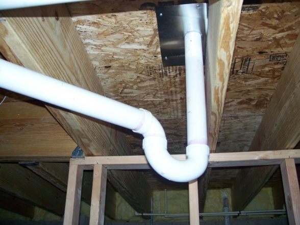 P trap on shower in basement plumbing diy home