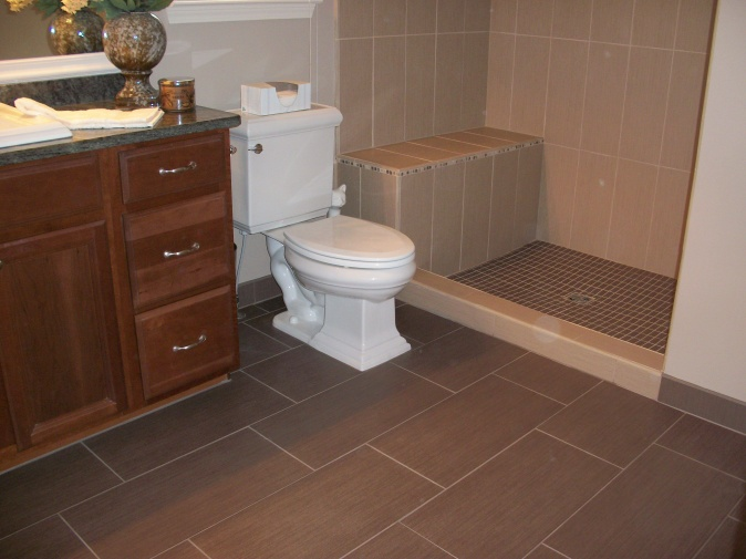 Tile Bathroom Layout few qs: tiling a bathroom: ditra, layout of tile, kerdi-band