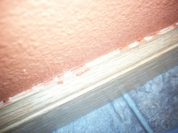 Paint Seeped Through Tape Onto Wood Trim-100_1265.jpg