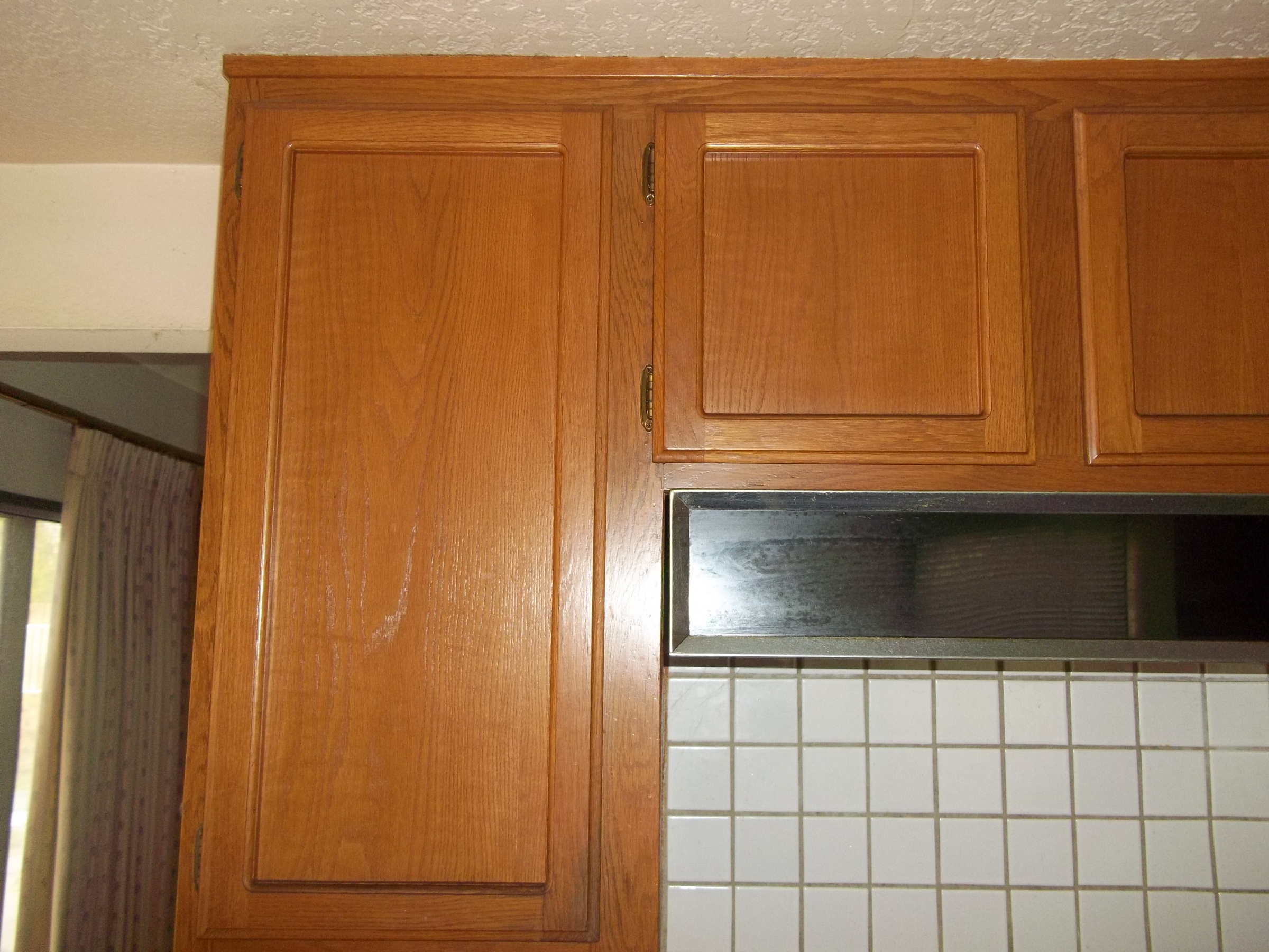 Color Matching Kitchen Cabinet Stain Painting Diy Chatroom