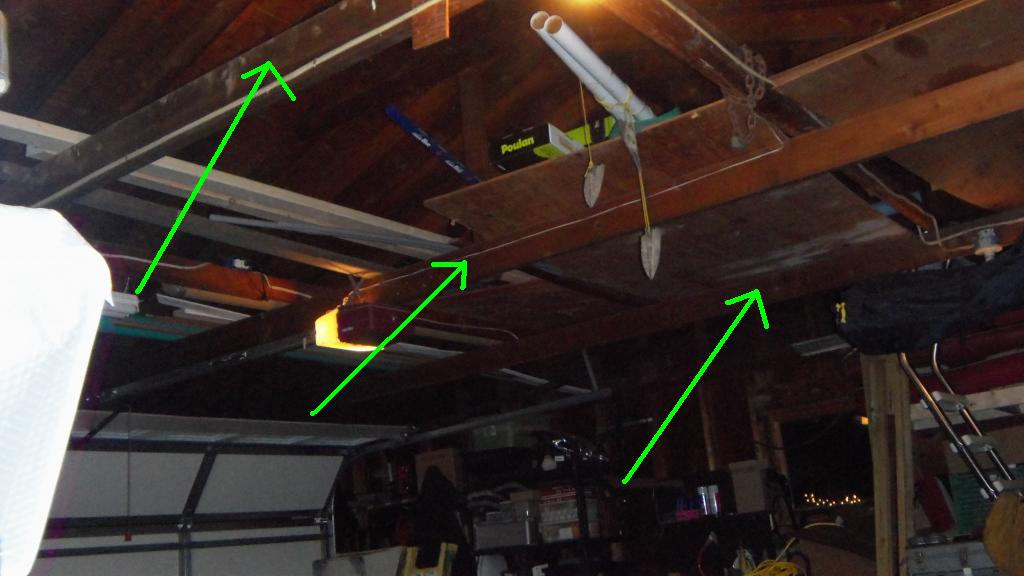 Adding Joists To Garage Ceiling