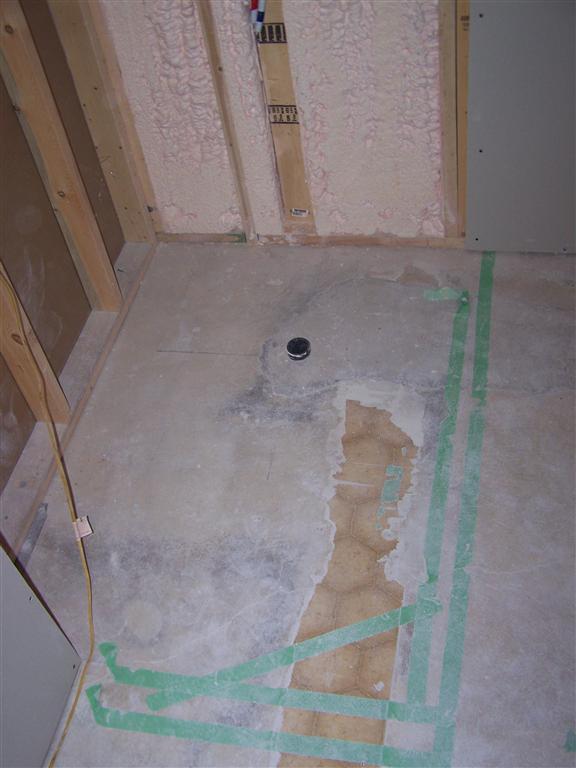Removing Linoleum Before Tiling Tiling Ceramics