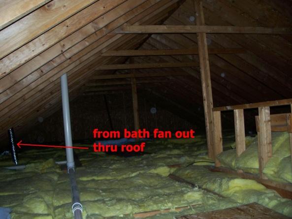 Bathroom Exhaust Fan Venting Into Attic Image Balcony And Attic - Venting bathroom fan into attic