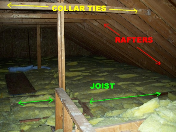 sending wiring through attic space electrical diy chatroom home rh diychatroom com Attic Wiring Example house wiring in attic