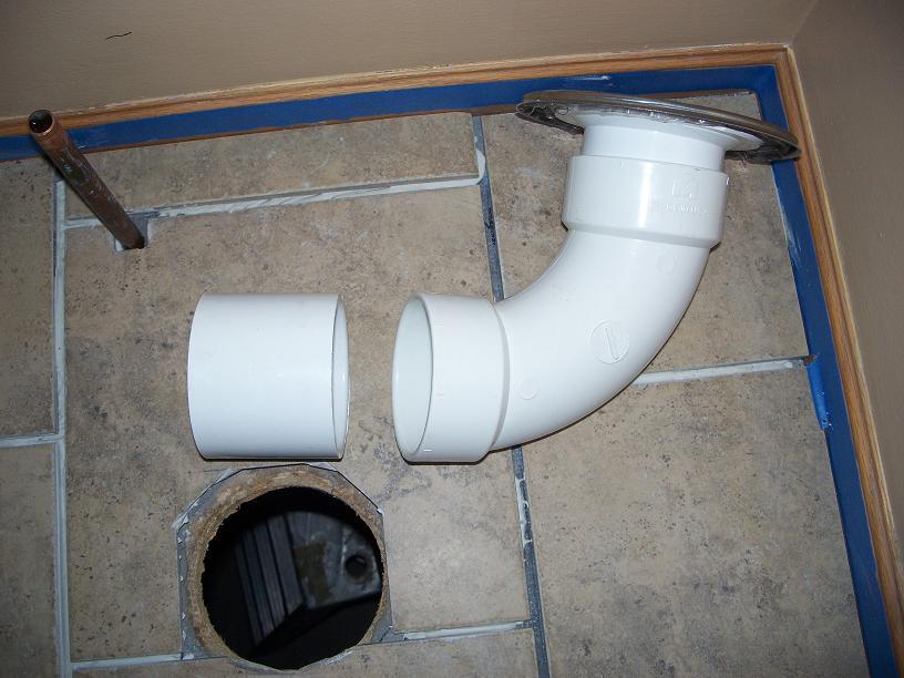 Toilet Flange On Concrete Floor Plumbing Diy Home