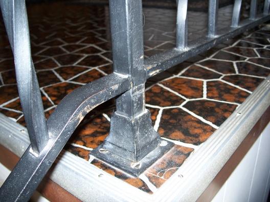 Oak hand rail on existing iron stair railing-100_6691.jpg