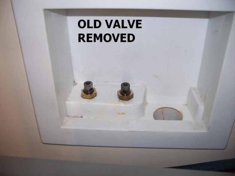 Leaking oatey washing machine shutoff valve plumbing diy home