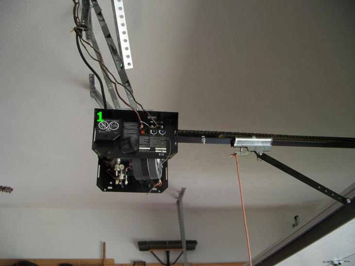 Craftsman Garage Door Opener Motor Not Working, Clicking Sound-100_8282.jpg
