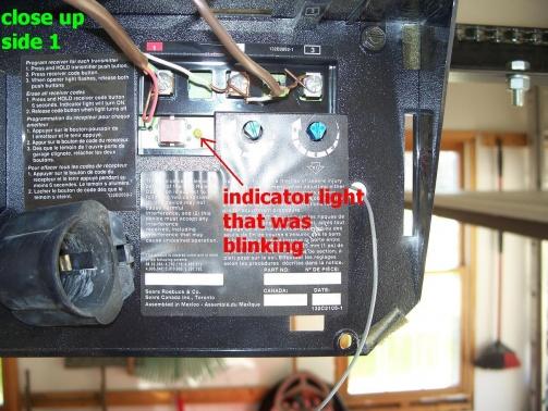 Craftsman Garage Door Opener Motor Not Working, Clicking Sound-100_8283.jpg