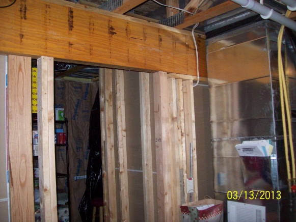 Thinking Of Notching Lvl Beam For Interior Door Ro Clearance