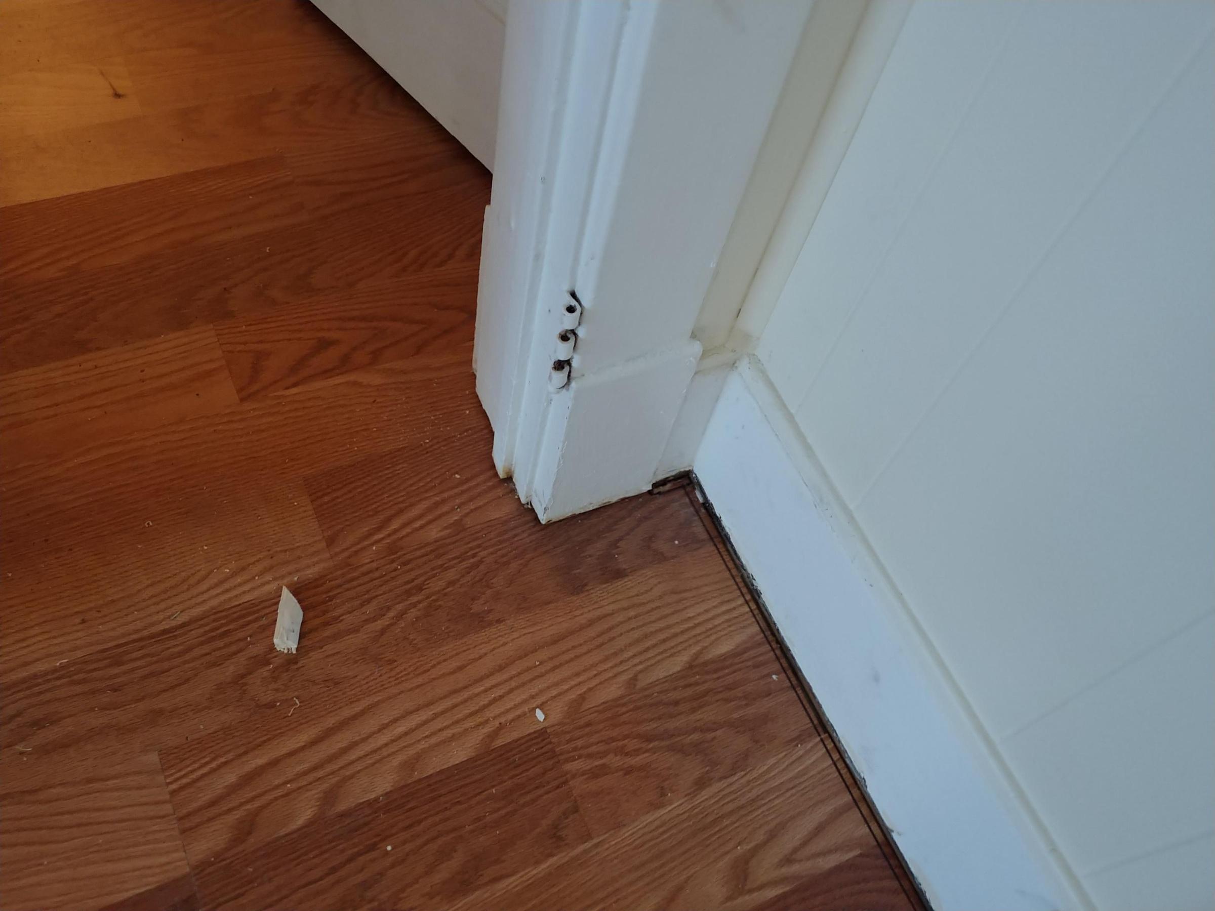 Leave Gap Between Quarter Round And Laminate Flooring Diy