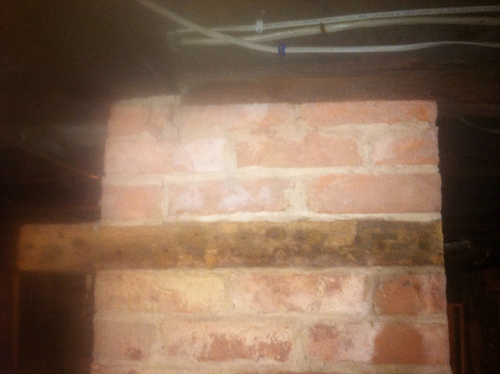 old chimney - wood built into chimney-- Why??-10211841846_cedf421815.jpg