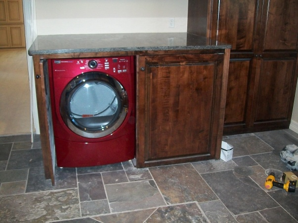 how to install countertop over washer and dryer remodeling diy chatroom home improvement forum. Black Bedroom Furniture Sets. Home Design Ideas
