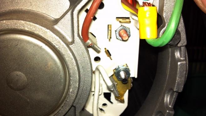 Wiring A Speedaire 4b233e Motor - Electrical